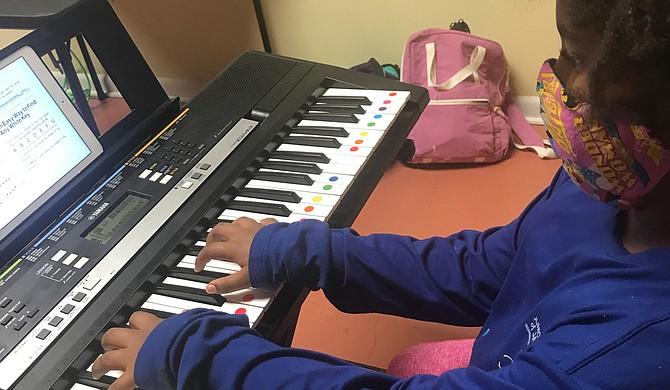 Latongya Garner opened Garner Music Academy in December 2019, where she hones others' crafts. Photo courtesy Garner Music Academy