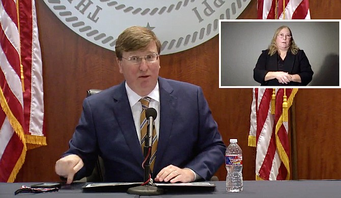 Mississippi saw 2,457 new cases of COVID-19 on Tuesday, Dec. 1, 2020, a staggering new single-day peak. The same day, Gov. Tate Reeves falsely claimed the state was not in a new peak, offering only additional piecemeal restrictions to stem the tide of the virus. Photo courtesy State of Mississippi