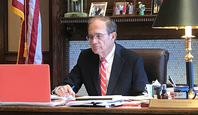 In an interview, Lt. Gov. Delbert Hosemann expressed little interest in Gov. Tate Reeves' plan for a total end to income tax—instead, the Senate leader said he wants a renewed push for teacher pay. Photo courtesy Delbert Hosemann