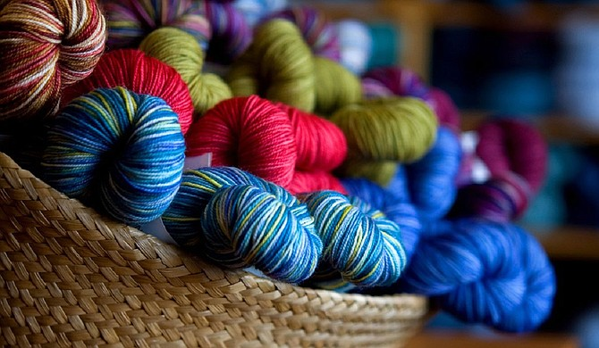 The Knit Studio offers a variety of crafting supplies, particularly yarn for beginners and veterans alike. Photo courtesy The Knit Studio
