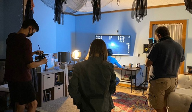 Mississippi State University's Broadcast Education Association Student Media Club recently won first place in a national competition with its inaugural submission to the BEA 168-Hour Film Challenge. Photo courtesy MSU