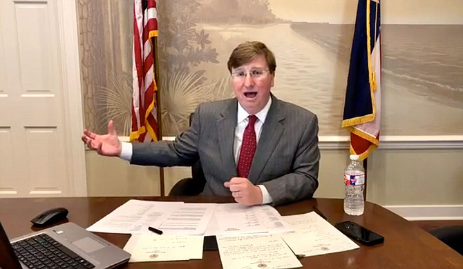 Today, Gov. Tate Reeves announced the decision to allow vulnerable Mississippians to have access sooner than expected to the COVID-19 vaccine. Photo courtesy State of Mississippi