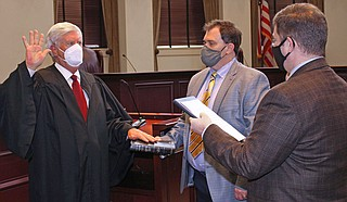 Chief Justice Mike Randolph Photo courtesy State of Mississippi Judiciary