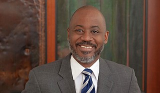 The Rockefeller Foundation's U.S. Equity and Economic Opportunity Initiative Senior Vice President Otis Rolley III said it is unfortunate that African Americans are about 80% of Jackson's population but control a small portion of the economy. Photo courtesy Rockefeller Foundation