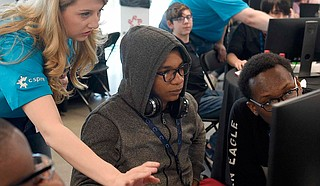An organization announced Thursday that it is committing $1 million to help Mississippi school districts start computer science classes. Photo courtesy C Spire