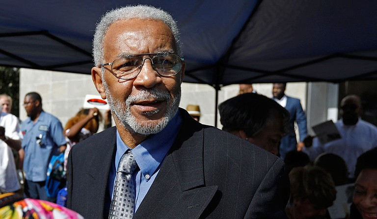 """Meredith C. Anding Jr., a member of the """"Tougaloo Nine,"""" who famously participated in a library """"read-in"""" in segregated Mississippi 60 years ago, has died. He was 79. Photo by Rogelio V. Solis via AP"""