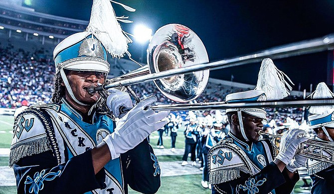 Jackson State University's Sonic Boom of the South marching band is set to participate in an official event celebrating diversity ahead of the inauguration ceremony of President-elect Joe Biden and Vice President-elect Kamala Harris. Photo courtesy JSU
