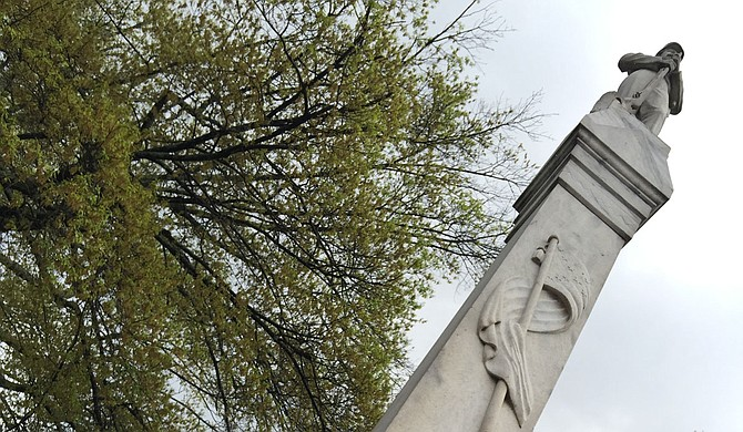 A Mississippi county will put up a marker to remember Black men who were lynched by white mobs between 1885 and 1935. It will be near a statue that honors Confederate soldiers. Photo by Donna Ladd