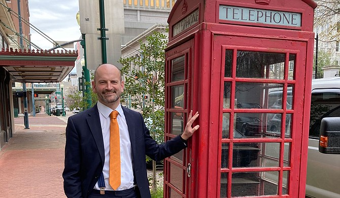 Douglas Carswell, a leader of the Brexit movement and newly appointed government trade adviser in the United Kingdom, is now the head of a conservative think tank in the American South. Photo courtesy Douglas Carswell