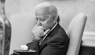 With sunset remarks and a national moment of silence, President Joe Biden is planning a head-on acknowledgement of the country's once-unimaginable loss—half a million Americans in the COVID-19 pandemic—in striking contrast to the approach of his predecessor. Official White House Photo by Adam Schultz