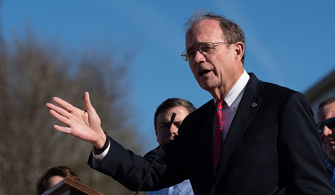 Mississippi Lt. Gov. Delbert Hosemann said Monday that the state Senate will thoroughly examine a House bill that proposes several significant changes in state tax rates. Photo by Ashton Pittman