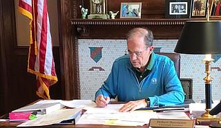 Delbert Hosemann (pictured) could lead on helping Jackson, Todd Stauffer says. Photo courtesy Delbert Hosemann