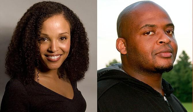 Jesmyn Ward (left) and Kiese Laymon (right) Photo courtesy USM