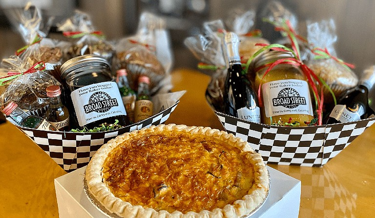 """Broad Street Baking Company recently released two sets of new Easter basket sets for children, in addition to its two """"Boozy Brunch Baskets"""" for adults. Photo courtesy Broad Street Baking Company"""