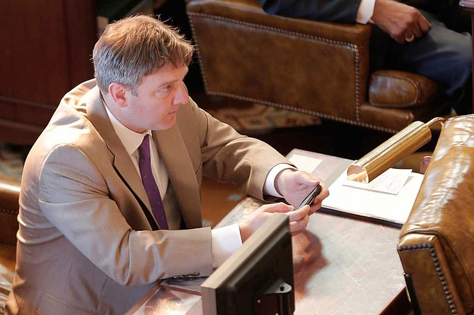 Sen. Joey Fillingane, R-Sumrall, principally authored a bill to increase minimum welfare payments along with 11 Democratic co-sponsors. File Photo by Imani Khayyam