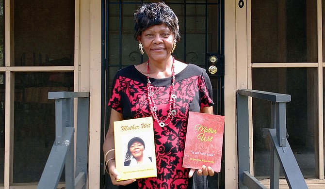 """Long-time Jackson resident Irma Mae Rogers relays the life lessons she has learned from her experiences with being a young mother in her book, """"Mother Wit,"""" which is available in both hardcover (left) and softcover (right). Photo courtesy Irma Mae Rogers"""