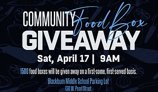 Jackson State University's Center for Community Engagement is partnering with local organizations to provide 1,500 free food boxes containing non-perishable goods to needy families in the community. Photo courtesy JSU