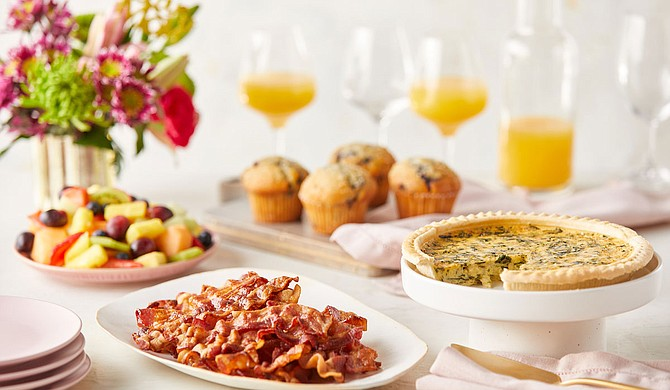 The Fresh Market is offering all-in-one, ready-to-cook brunch and dinner meals for Mother's Day. Customers can place their orders online and pick them up in the store. Photo courtesy The Fresh Market