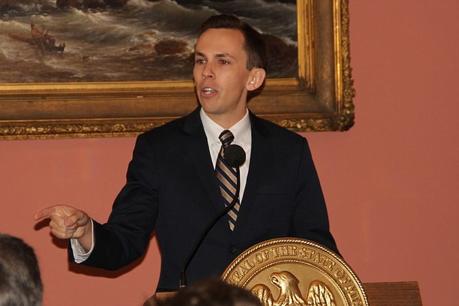"""State Auditor Shad White has expressed concern about the district's bookkeeping at least once before recently. A report released in December described what White called """"widespread problems"""" with district spending. Photo courtesy Shad White"""