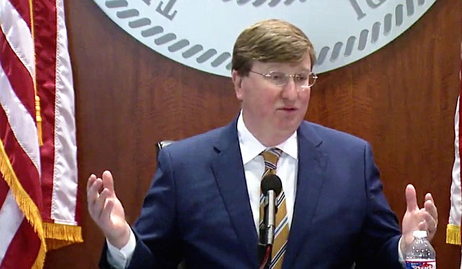 Mississippi Gov. Tate Reeves faces a Thursday deadline to act on a bill that could make more inmates eligible for the possibility of parole in a state with one of the highest incarceration rates in the nation. Photo courtesy State of Mississippi