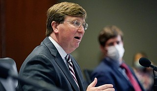 The report was released the day after Republican Gov. Tate Reeves signed a bill that will become law July 1 and make more inmates eligible for parole in a state with one of the highest incarceration rates in the nation. Photo by Rogelio V. Solis via AP