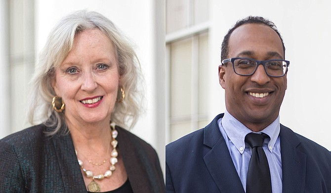 Councilwoman Virgi Lindsay (left) represents Ward 7, which gets a third of the 1% sales tax spending between 2017 and 2020. Ward 2 got one-tenth of Ward 1's funds. Former Ward 2 Councilman Melvin Priester Jr. (right) said just tallying 1% sales-tax amounts will not give the right picture. Photos courtesy City of Jackson Photo courtesy City of Jackson