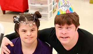 Sarah and Jerry are two of the nearly countless adults with developmental disabilities whom The Mustard Seed have helped over its now 40 years of operation, a milestone the nonprofit plans to celebrate this year. Photo courtesy The Mustard Seed