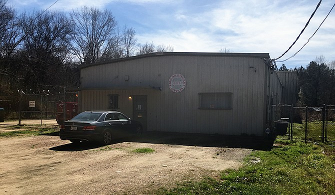 Walker Environmental Services operates from this building at 333 Wilmington St. in Jackson as Rebel High Velocity Sewer Services. On Jan. 25, 2017, owner Andrew Walker participated in digging up Jackson Sewer System pipes at this location to illegally dump industrial waste, court documents said. He has pled guilty to the criminal charges. Photo by Kayode Crown