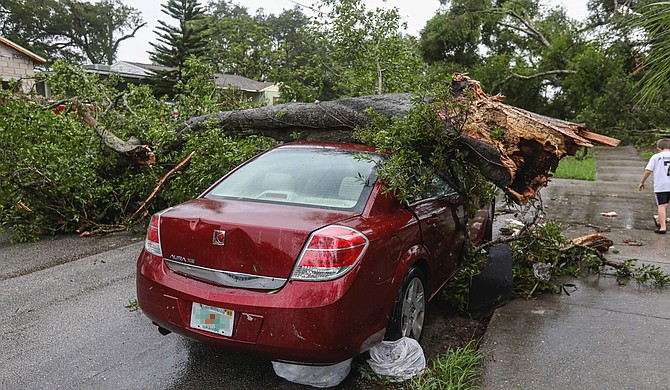 After a weekend without clean water, Jackson residents had to endure a fierce tornadic storm on Tuesday that left destruction and power outages in its wake. Photo courtesy Unsplash