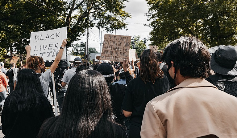 Activists with Black Lives Matter Mississippi are calling for the release of police body camera footage of what happened May 3 near Biloxi. Investigators won't say whether any officers were wearing body cameras at the time. Photo courtesy Duncan Shaffer on Unsplash