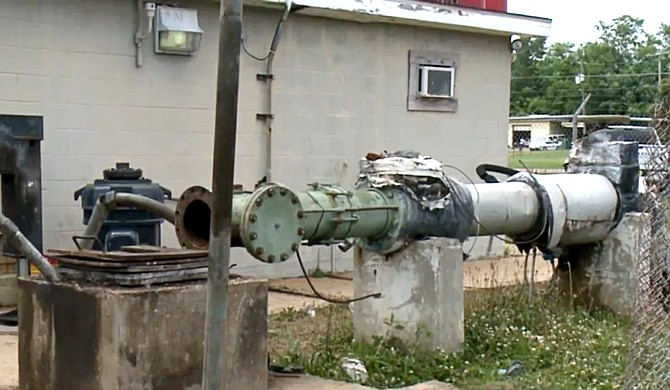 The Jackson Maddox well system services 16,000 residents via four well systems. Two of those pumps have now been out of service for six days, requiring a boil-water requirement for all customers and resulting in inadequate water pressure for some. Photo courtesy WAPT