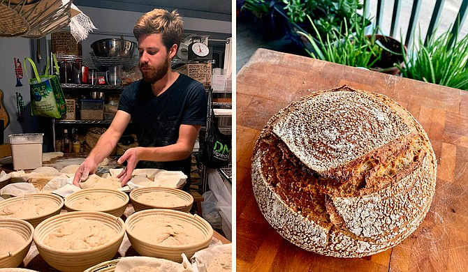 Sunflower Oven, a cooperative baking business, produces a variety of sourdough breads and pastries each week, available for preorder. Photo courtesy Sunflower Oven