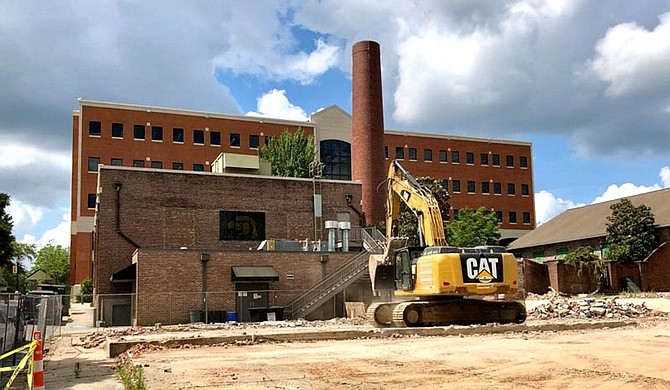 The University of Southern Mississippi has launched a series of construction projects to improve accessibility and mobility on its Hattiesburg campus, including a pedestrian pathway and additional parking. Photo courtesy USM