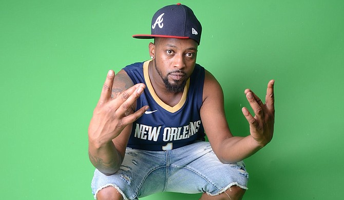 """Kevin McGhee, who goes by the stage name D.O.N.O. Vegas, released """"No Excuses"""" last summer during the pandemic. The album has since become his most popular release, and he hopes to create a spiritual successor to the album with his upcoming """"Stil No Excuses,"""" which he plans to release this summer. Photo courtesy Joe Ellis"""