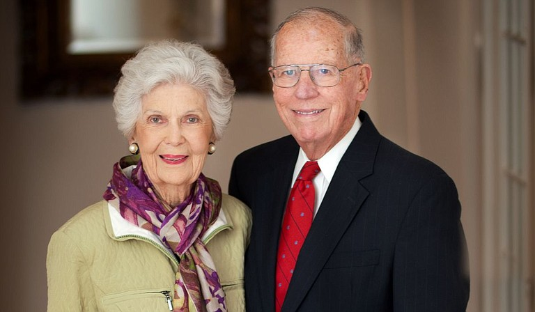 Elise Winter, the wife of former Mississippi Gov. William Winter, was surrounded by loved ones when she died Saturday at her home in Jackson, said Dick Molpus, a longtime family friend who served on Winter's gubernatorial staff. She was 95. Photo courtesy Ole Miss Photography/William Winters Office
