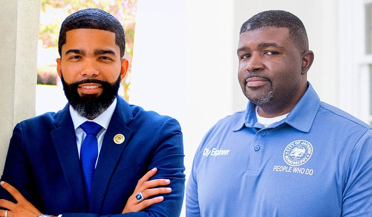 Jackson Public Works Director Charles Williams and Mayor Chokwe Antar Lumumba acknowledged funding is an obstacle to completing all long-term improvements required by the Environmental Protection Agency. Photo courtesy City of Jackson