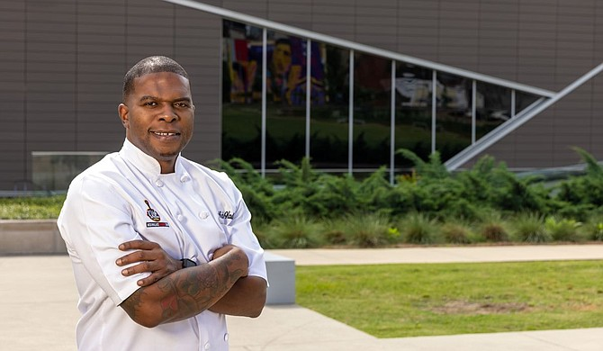 Nick Wallace, founder of Nick Wallace Culinary and Nick Wallace Catering and chef partner at the Capital Club of Jackson, opened a new restaurant called Nissan Café at the Two Mississippi Museums in Jackson on Tuesday, July 20. Photo courtesy MDAH
