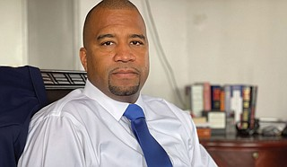 District Attorney Jody Owens explained in an interview in his office on July 8 that Hinds County needs more resources to reduce the time detainees spend in Hinds County Detention Centers before going to trial. Photo by Kayode Crown