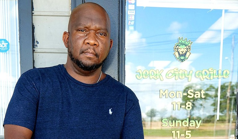 Following the success of Jerk City Grille as a food truck, owner and chef Wendell Brewster opened a physical restaurant to sell his Caribbean food. Photo by Delreco Harris