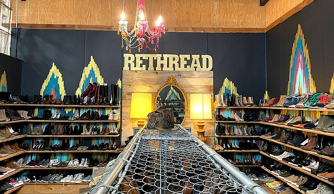 Repeat Street, a Ridgeland consignment store specializing in contemporary and vintage clothing, furniture and accessories, remodeled its second building and turned it into a new clothing store called Rethreads on Tuesday, Sept. 7. Photo courtesy Repeat Street