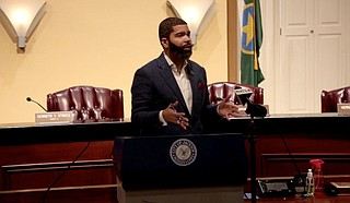 Mayor Chokwe A. Lumumba said at a press briefing on Sept. 20, 2021, that the City of Jackson had executed an emergency garbage disposal contract. However, on Wednesday, Sept. 22, the City Council rescinded the mayor's Sept. 17 emergency declaration, which canceled the emergency contract. Photo courtesy City of Jackson
