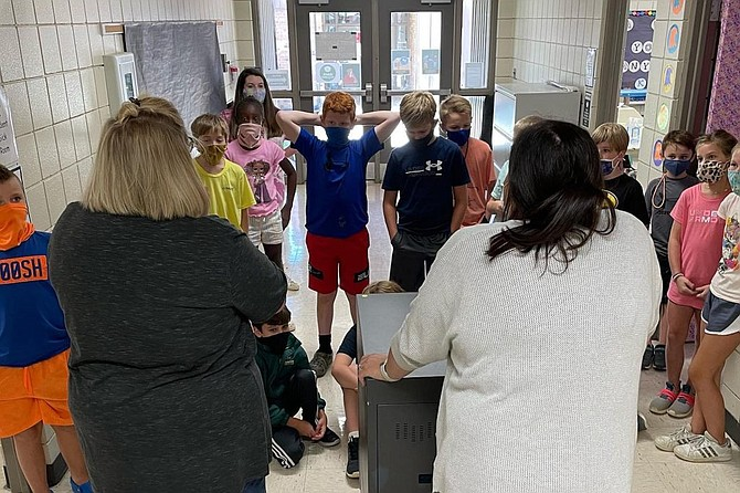 Students in the Rankin County School District will no longer have to wear masks after the school board decided to end the mandate during a Sept. 22, 2021, meeting. School board members cited declining COVID-19 cases since the mandate's enactment as justification for ending it. Children younger than 12 are not yet eligible to receive the COVID-19 vaccine. Photo courtesy Rankin County School District