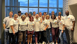 """Capital City Pride works to promote unity and inclusion during its community-engagement events supporting the LGBTQ+ community, such as this weekend's """"The City With Pride"""" extravaganza. Photo courtesy Capital City Pride"""