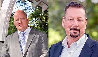 Former Hinds County deputies Richard Spooner and Les Tannehill are among the 13 candidates running for Hinds County Sheriff on Nov. 2. Photos courtesy Richard Spooner and Les Tannehill