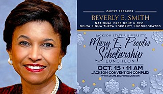Beverly E. Smith, national president and chief executive officer for Delta Sigma Theta Sorority, Inc. will serve as the keynote speaker for JSU's 2021 Mary E. Peoples Scholarship Luncheon. Photo courtesy JSU