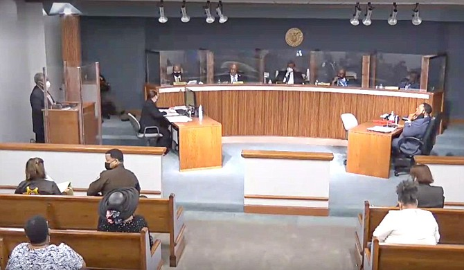 Hinds County Reentry Program Director Louis Armstrong told the Hinds County Board of Supervisors on Monday, Oct. 4, that 21 people admitted to the program will begin a six-week cognitive training on Oct. 12. Photo courtesy Hinds County