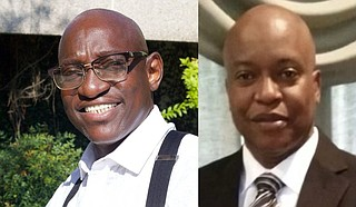 Ather West and Reginald Thompson are contesting for Hinds County Sheriff at the Nov. 2 special election. There are 13 candidates in total. Photos courtesy Ather West and Reginald Thompson