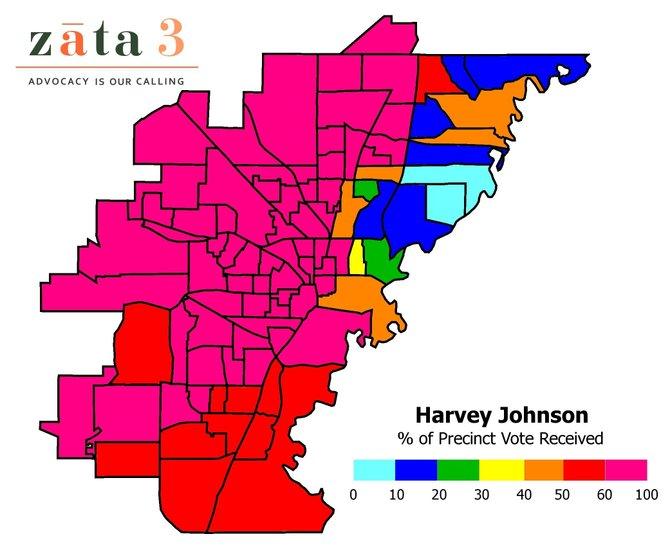 The runoff map tells the story, says Brad Chism of Zata|3.