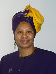 Okolo Rashid is a 2012 honoree of the National Womens History Project for her work on diversity education issues.