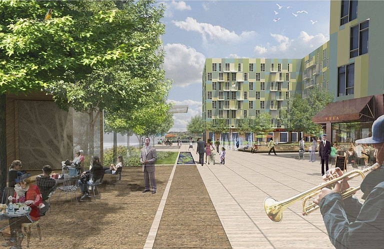 Full Spectrum NY said in the spring that it planned to break ground by the end of June on 1822 Square, a mixed-used development at the location of the Old Capitol Green. Now, the plan may be falling apart.